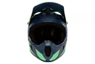 Casque Fox Rampage Race Vert Bleu