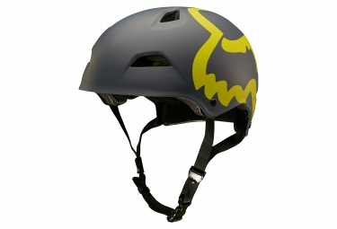 casque fox flight eyecon hardshell noir jaune s 52 54 cm