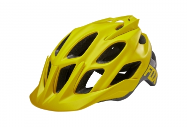Fox france flux creo helmet drk ylw s m