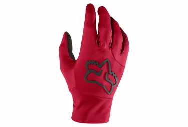 Gants hiver fox attack water rouge l