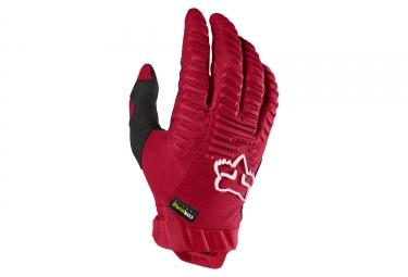 gants longs fox legion rouge l