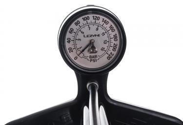 Pompe à Pied Lezyne Steel Floor Drive ABS-1 Pro Noir