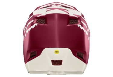 Casque Fox Rampage Pro Carbon Moth Rouge
