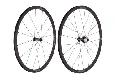 paire de roues vision trimax 30 kb shimano sram 11v noir