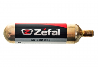 Cartuccia di CO² ZEFAL 25 gr filettate