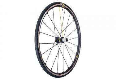 roue arriere mavic ksyrium elite ust tubeless noir gris sram shimano yksion pro ust 25mm