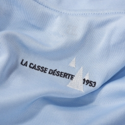 Maillot Manches Courtes Mérinos Louison Bobet Izoard 53 Bleu Clair