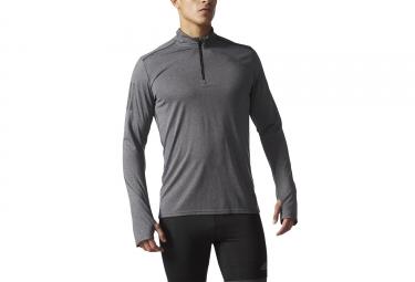 maillot manches longues adidas running response gris xl