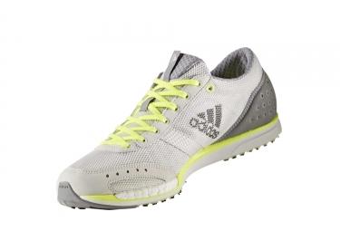 adidas running adizero takumi sen 3 gris jaune homme 40