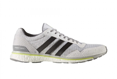 Chaussures de Running adidas running Adizero Adios 3 Blanc / Gris