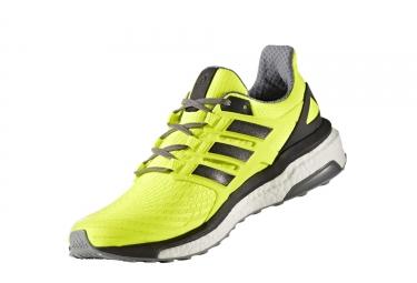 adidas running energy boost jaune fluo noir homme 46