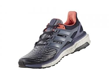 Chaussures de Running Femme adidas running Energy Boost Gris / Violet