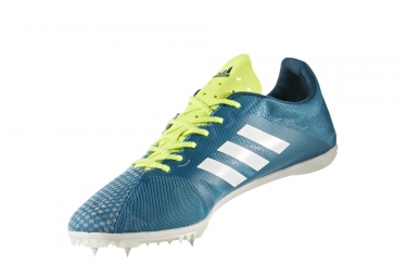 adidas running Adizero Ambition 4 Teal Blue Neon Yellow Men