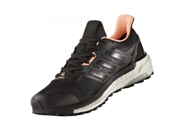 adidas running supernova gore tex noir orange fluo femme 38 2 3