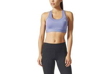 adidas running Techfit Sport Bra Purple