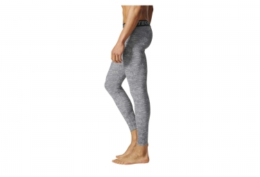 Collant Long adidas running Techfit Base Gris