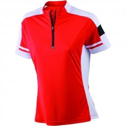 James et nicholson maillot cycliste femme jn451 rouge s