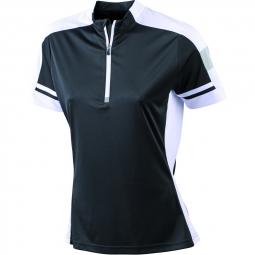James et nicholson maillot cycliste femme jn451 noir s