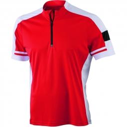 James et nicholson maillot cycliste homme jn452 rouge s