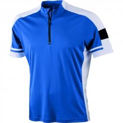 James et nicholson maillot cycliste homme jn452 bleu cobalt s