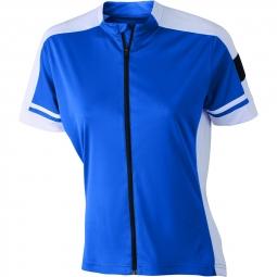 James et nicholson maillot cycliste zippe femme jn453 bleu cobalt s
