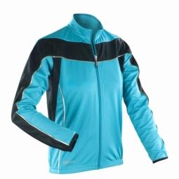 Spiro maillot manches longues femme veste cycliste s255f bleu xs