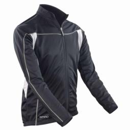 Spiro maillot manches longues homme veste cycliste s255m noir xxl