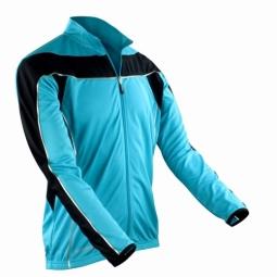 Spiro maillot manches longues homme veste cycliste s255m bleu s