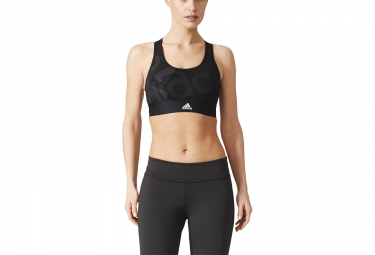 Brassière adidas running Techfit Badge Of Sport Noir