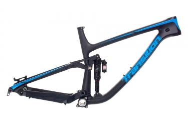 cadre tout suspendu transition patrol carbon 27 5 rockshox super deluxe rc3 noir bleu m 165 180 cm