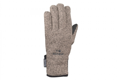 Eider Wooly Gloves - Marron