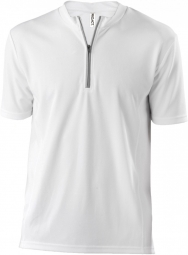 Proact maillot cycliste homme pa468 blanc manches courtes xs