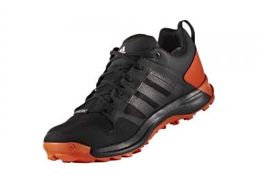adidas running kanadia 7 trail gtx noir orange homme 42 2 3