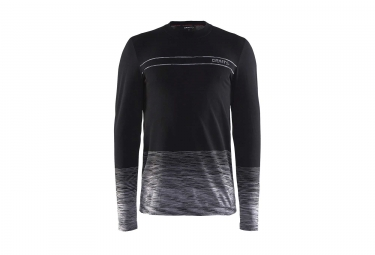 Maillot Manches Longues Craft Wool Comfort 2.0 Noir Gris