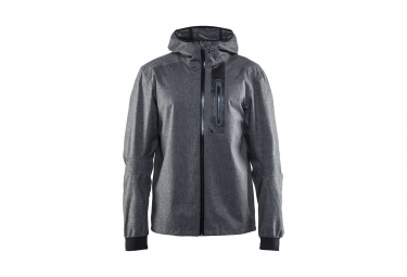 veste impermeable craft ride noir m