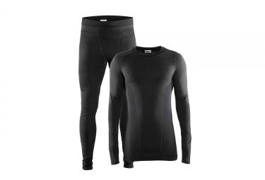 Pack collant maillot craft seamless zone black l
