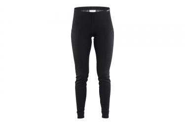 pantalon femme craft nordic wool noir l