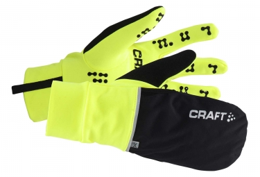 gants craft hybrid weather noir xl