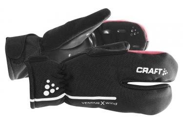 Gants Craft 3 Doigts Noir