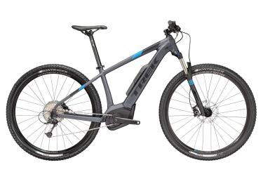 vtt semi rigide 29 trek powerfly 5 2018 21 5 gris noir bleu 21 5 pouces 185 198 cm
