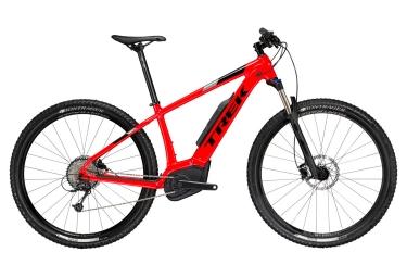 vtt semi rigide 29 trek powerfly 5 2018 rouge noir 21 5 pouces 185 198 cm