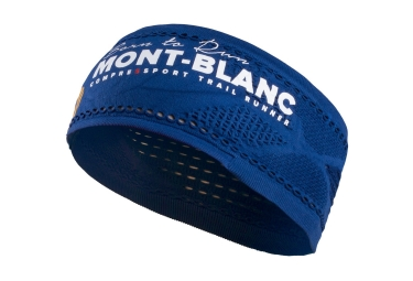 bandeau compressport on off mont blanc 2017 bleu