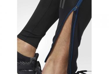 Collant Long adidas running Response Noir Bleu Marine