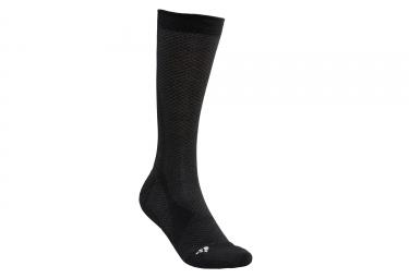 Chaussettes craft warm noir blanc 34 36