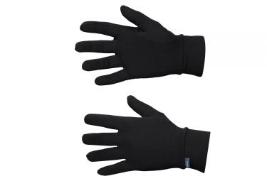 sous gants odlo warm noir xs