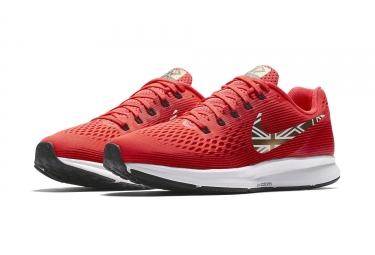 b4c44b3ffb606 Nike Air Zoom Pegasus 34 Mo Farah Homme Rouge 42.5