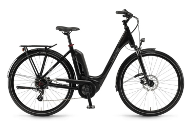 Sinus Tria N7eco City E-Bike 28'' 400wh Shimano Acera 7S 2017 Black