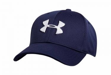 casquette de sport under armour blitzing ii bleu marine m l