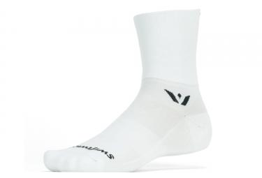 Swiftwick Aspire Four Socks Bianco