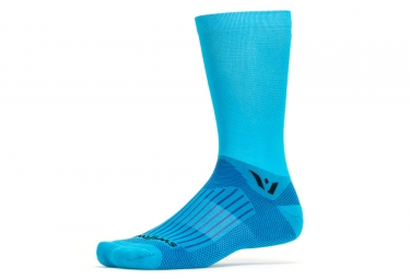chaussettes swiftwick aspire seven bleu fusion 39 42